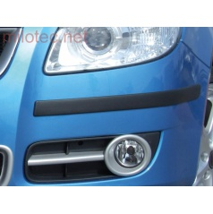 Ochranné lišty predného a zadného nárazníka, Škoda Roomster & Facelift 2010