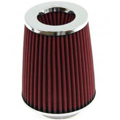 Športový vzduchový filter kužeľovitý červený (úzke telo)