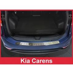 Nerez kryt-ochrana prahu zadního nárazníku Kia Carens 2012-16