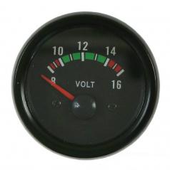 Prídavný budík KET voltmeter 52 mm