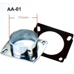 Univerzálna redukcia športového sania priemer 76 mm AA01