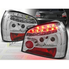AUDI A3 (8L) 1996-03 zadné LED lampy CHROME (LDAU06)