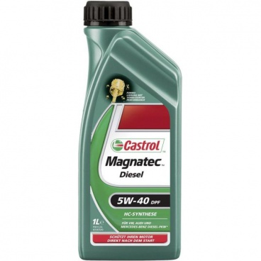 Motorový olej Castrol Magnatec 5W-40 Diesel B4 / DPF - 1 liter