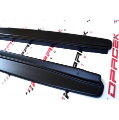 Škoda Superb III - bočné prahy DTM z ABS plastu - Basic