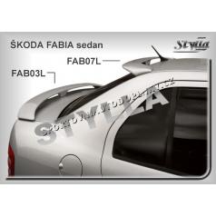 Škoda Fabia sedan spoiler strešný (EÚ homologácia)