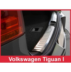 Nerez kryt- ochrana zavazadlového prostoru Volkswagen Tiguan 2007-15