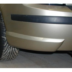 Rozšírenie zadného nárazníka, strieborné matné - Škoda Fabia I Combi, Sedan 2000-2007