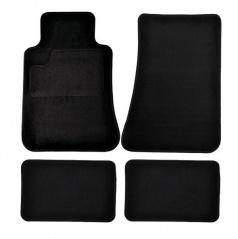 Autokoberce textilné čierne pre celé auto III