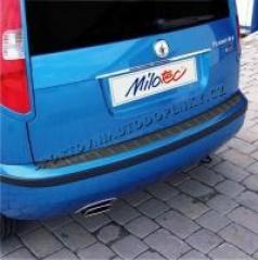 Prah piatych dverí s výstupky, ABS-karbon, Škoda Roomster
