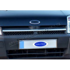 Ford Connect 02-06 - nerez chróm lišta prednej masky Omsa