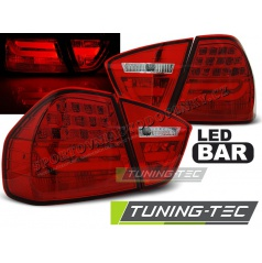 BMW E90 03.2005-08.2008 zadné lampy red LED BAR (LDBMC7)
