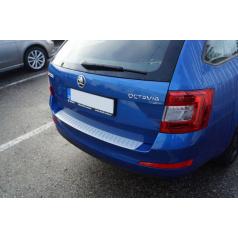 Ochranný panel zadného nárazníka Alu Look Škoda Octavia III Combi