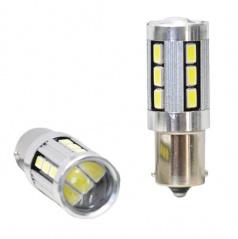 Žiarovka LED BAY15d biele CAMBUSA 18LED 5730SMD 2ks