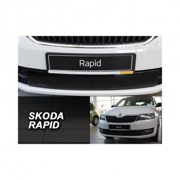 Zimná clona - kryt chladiča dolný - Škoda Rapid, 2012-, spaceback / liftback, 4/5 dver.