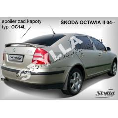 Škoda Octavia II HTB (04+) spoiler zadnej kapoty (EÚ homologácia)