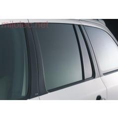 Kryty dverových stĺpikov Milotec - ABS čierna metalíza, Škoda Octavia Combi