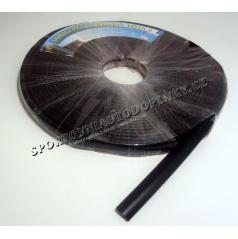 Lišta samolepiaci gumová čierna