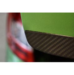 Spodná lišta zadných 5.dverí z pravého karbónu Omtec Škoda Octavia III Combi