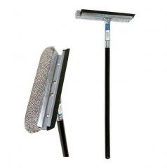 Stěrka s držadlem dřevěná / kovový unašeč (25/47 cm)