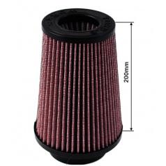 Športový vzduchový filter TurboWorks priemer 80-89 mm, výška 200 mm