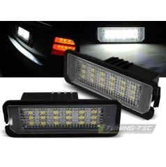 LED osvětlení SPZ - VW Golf, Passat, New Beetle, Eos, Phaeton, Lupo, Polo, Scirocco (PRVW02)