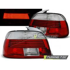 BMW E39 09.2000-06.2003 zadné lampy red white (LDBM04)