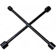 Kľúč na kolesá krížový čierny 17,19,21 a 23 mm