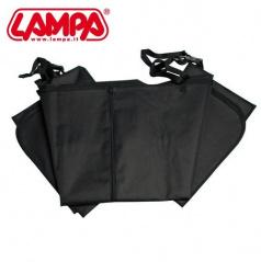 Ochranná deka pre psa 145x150cm čierna