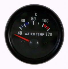 Prídavný budík KET teplota vody 52 mm