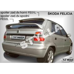 Škoda Felicia spoiler zadných dverí spodný (EÚ homologácia)