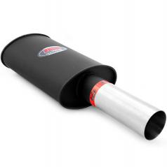 Športový výfuk RM 1x76 mm, vstup 50 mm