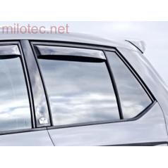 Zadné deflektory okien (deflektory), Fabia III. 2014-2018 / Fabia III. Facelift, 09/2018