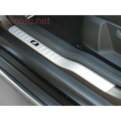 Kryty prahov ABS - strieborné matné, Škoda Yeti 09/2009 +