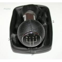 Kompletná radiaca páka Audi A3, S3 1995-99 5 rýchl. čierna koža