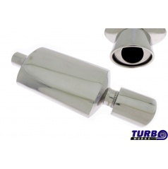Športový výfuk TurboWorks oválna koncovka 115x88 mm