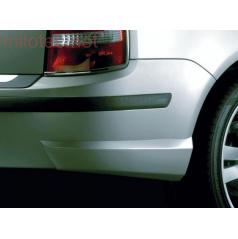 Škoda Fabia Combi, Sedan Facelift zadné rozšírenie nárazníka 2 ks, ABS-čierny