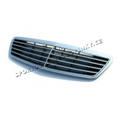 Mercedes Benz S klasse W220 99-05 - avantgarde maska CHROME / CARBON