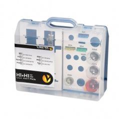 Box žiaroviek MEGA UNI 12V H1 + H1