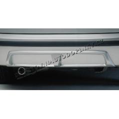 Difúzor zadného nárazníka - ABS čierný Škoda Fabia Combi, Sedan