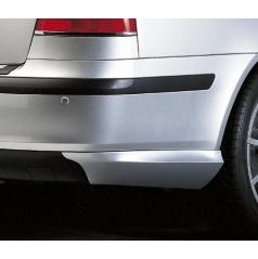 Body-Kit zadné rozšírenie nárazníka, ABS - strieborné matné, Škoda Octavia II Lim.