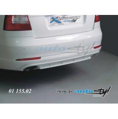 Difúzor zadného nárazníka - pre lak Škoda Octavia II facelift sedan, combi