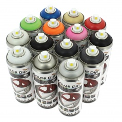Farebná guma v spreji KOLOR DIP 400 ml (ktorá sa dá kedykoľvek zložiť)