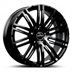 Alu koleso GMP TARGA black 10,0x22 5x130 ET48