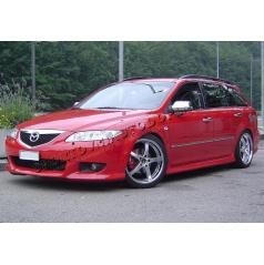 Mazda 6 02-07 - NEREZ chrom kryty zrcátek - OMSA LINE