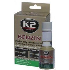 K2 Benzin - aditívum do paliva 50 ml