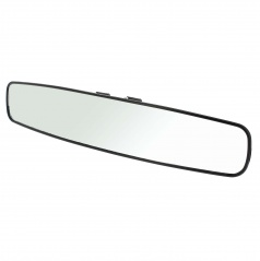 Konvexné panoramatické zrkadlo XL 43X8 cm