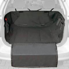 Ochranná deka pro psa do zavazadlového prostoru PROFI 100x90x20 cm černá