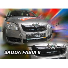 Zimná clona - kryt chladiča Škoda Fabia II 5 dveř. 2007 - 2010, (horná)