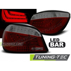 BMW E60 07.2003-02.2007 zadné lampy red smoke LED BAR (LDBMC4)