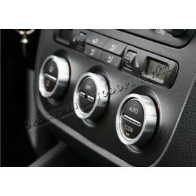 VW Golf V - ALU kroužky ovládání Climatronicu